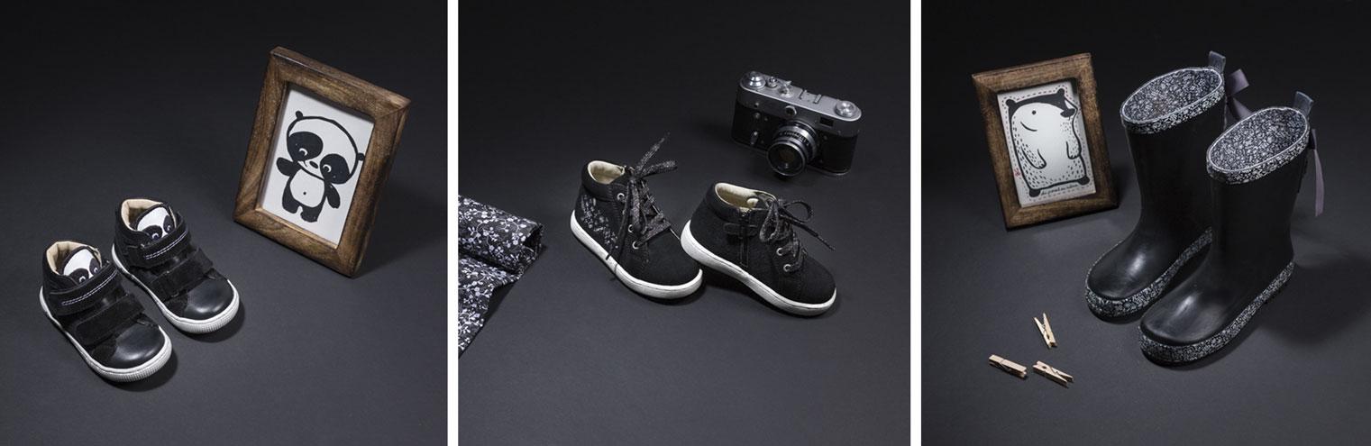 Série de chaussures enfants