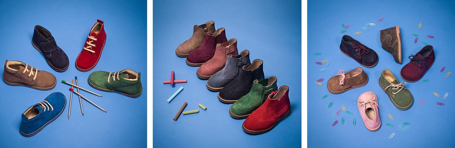 Triptique photo chaussures