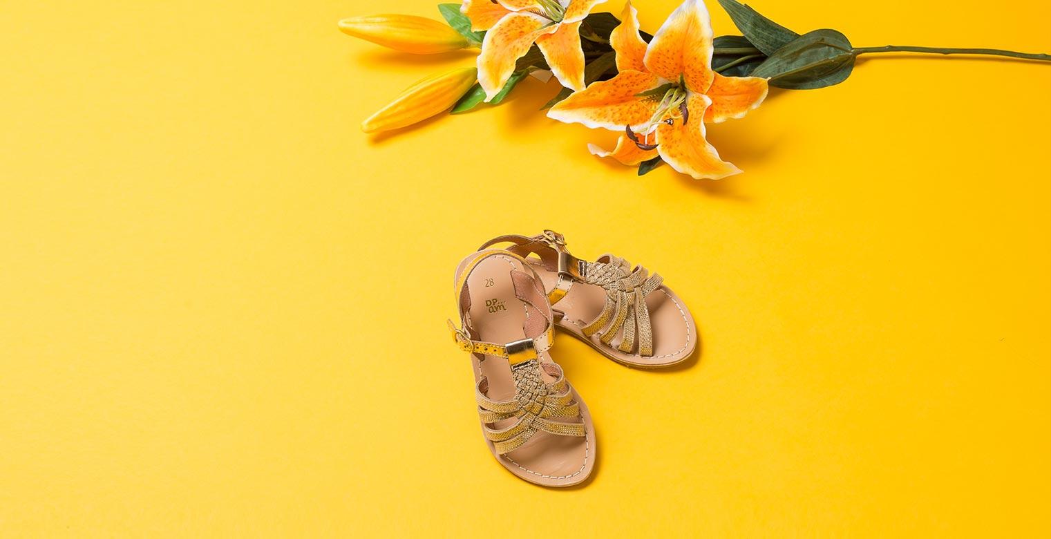 Photo packshot sandalle