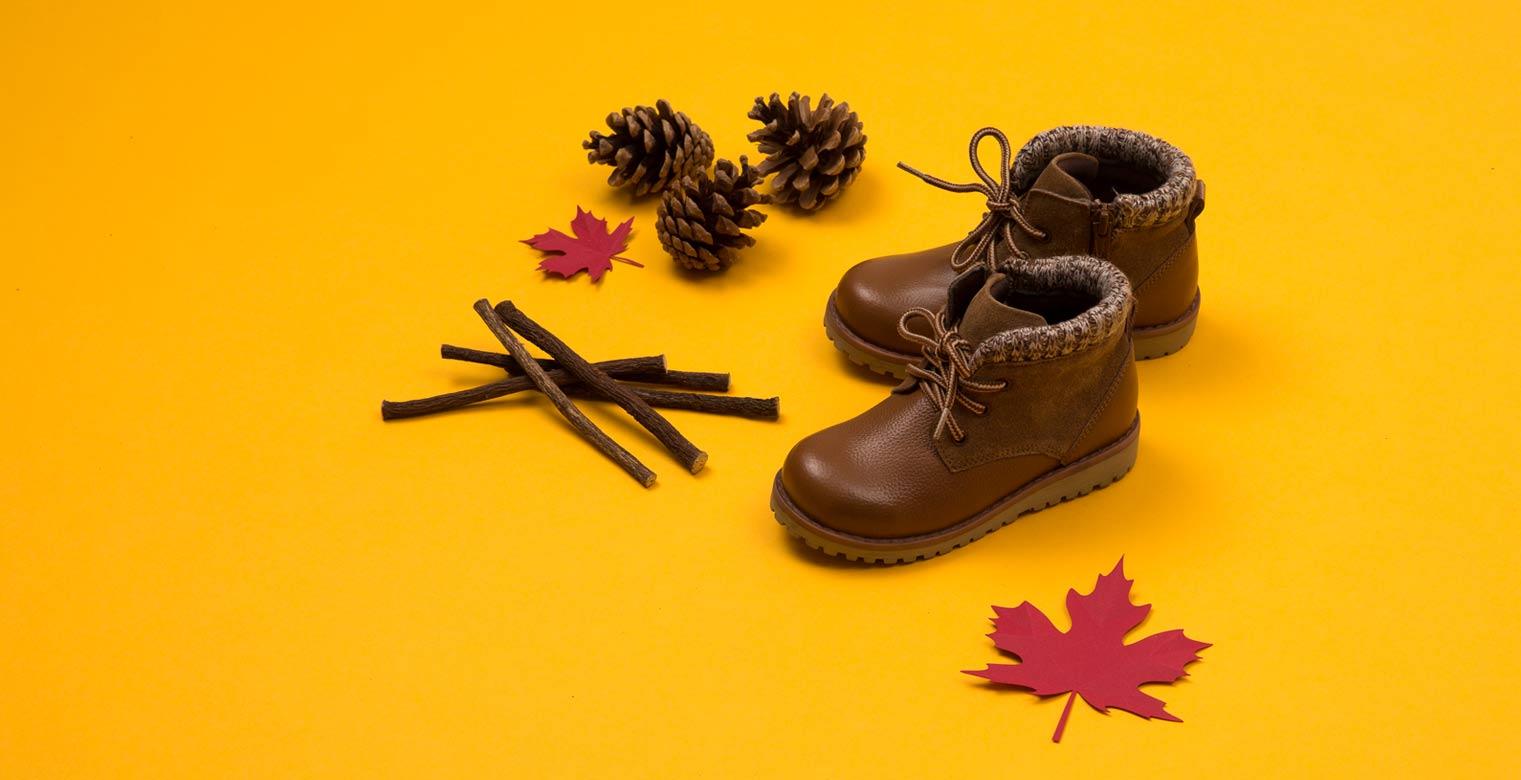 Packshot photo chaussure enfant