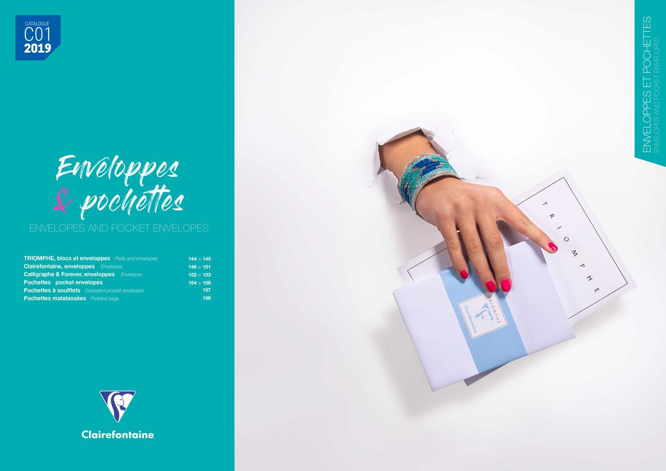 Pages intérieure catalogue produit